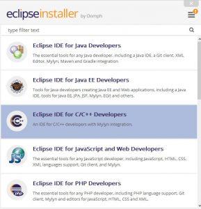 CEclipse C Programozas