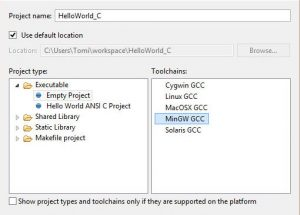 CProject C Programozas